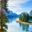 Spirit Island in Maligne Lake, Jasper National Park, Alberta, Canada