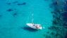 Yacht in Caribbean